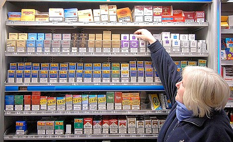 Ome menthol cigarettes Marlboro USA
