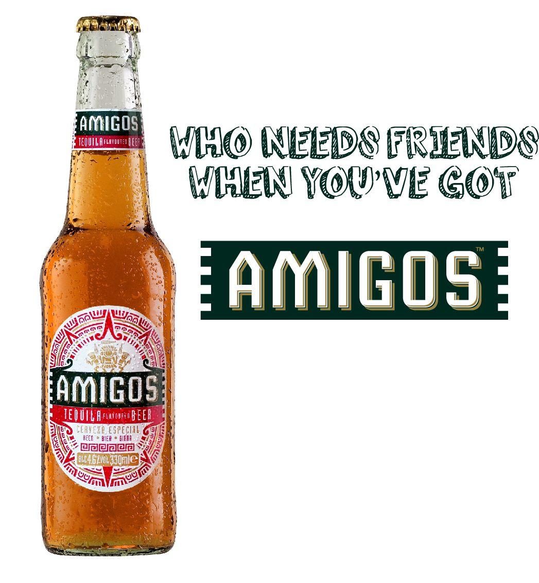 Amigos - Tequila Flavoured Beer - Mr. Cape Town ce7cc13ca9a6