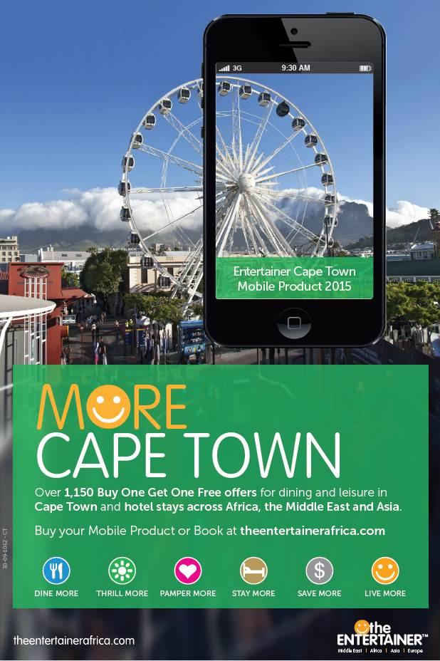 entertainer cape town