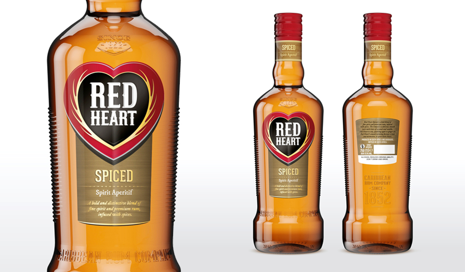 Red heart rum gets a makeover mr cape town for What goes good with spiced rum