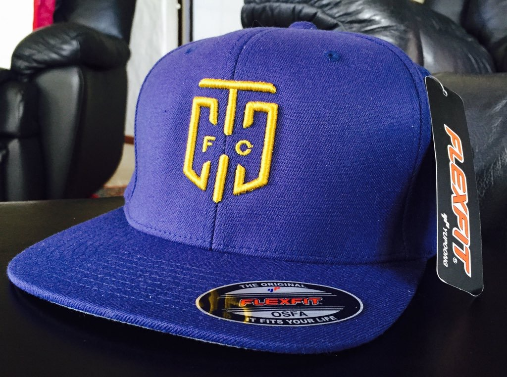 The supporters peak caps are UFLEX full elastic back style and come in the  club blue 3a1508d8e50