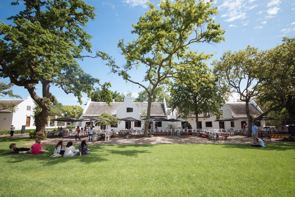 The Hoghouse At Spier Is For Locals