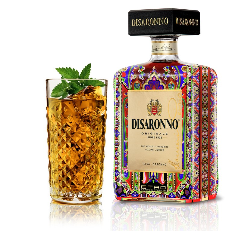DISARONNO Wears Etro Limited Edition