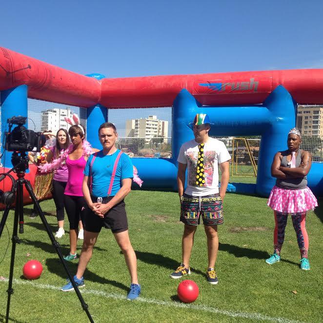 Zando Cape Town 10's Launches Dodgeball