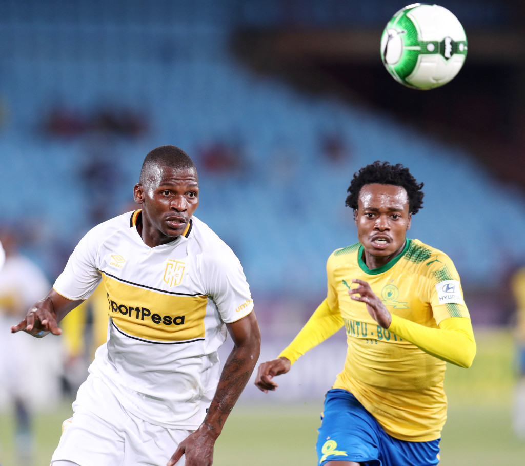 Football - Absa Premiership 2017/18 - Mamelodi Sundowns v Cape Town City - Loftus Versveld Stadium