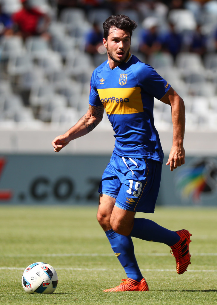 Football - Absa Premiership 2017/18 - Cape Town City FC v Ajax Cape Town - Cape Town Stadium
