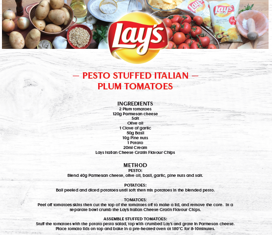 Lay's _ Stuffed Tomatoes _ Recipe