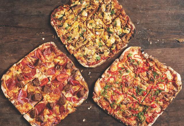 Group Shot Celeb Pizzas